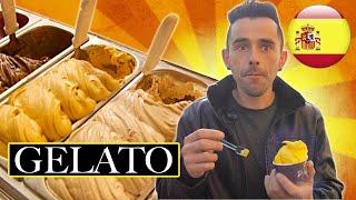 STRANIERI mangiano GELATO ITALIANO per la PRIMA volta - thepillow