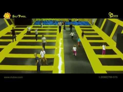 Развлекательный центр СкайПарк SkyPark // Скай Парк в Киеве