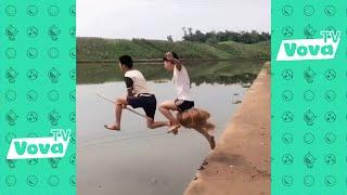 Hài Trung Quốc - Xem Xong Cấm Cười P18 - Những Khoảnh Khắc Hài Hước Nhất 2018
