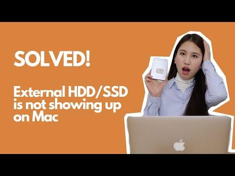 Fix External Hard Dive Not Showing up on Mac