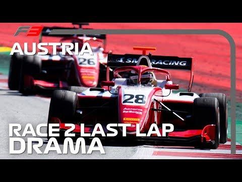 DRAMATIC End to Formula 3 Race! | 2019 Austrian Grand Prix
