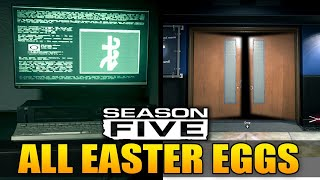 Modern Warfare: All Season 5 Easter Eggs Explained!