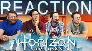 Horizon Zero Dawn Trailer REACTION And DISCUSSION E3 2015