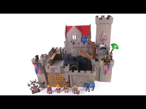 Playmobil Royal Lion Knights' Castle review! new set #6000