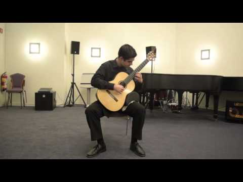 Me playing Fandango by Joaquin Rodrigo, a spanish piece.