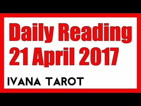 ❤️ TAKE A MOMENT Daily Reading for 21 April 2017