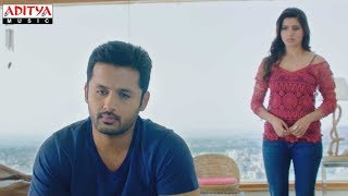 A Aa Scenes || Nithiin Reveal Flash Back Story To Samantha Scene | Nithiin, Samantha | A Aa