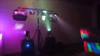 My Full DJ Light Setup