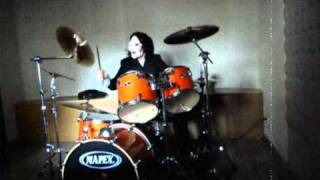 Roman Holiday drum cover by quikE... (SAW VI soundtrack) - Every Time I Die