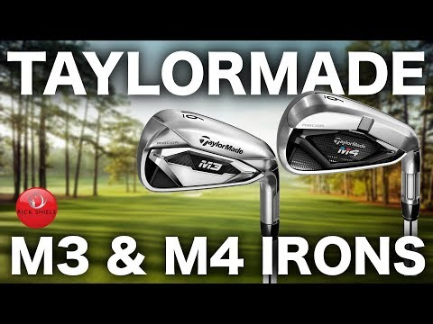 NEW TAYLORMADE M3 IRONS & M4 IRONS