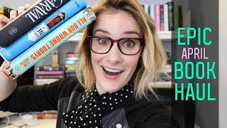 April 2017 Epic Book Haul | Caraval & Becky Albertalli & More! | Epic Reads