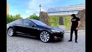 უხეში ტესტ დრაივი - TESLA Model S თელავში!