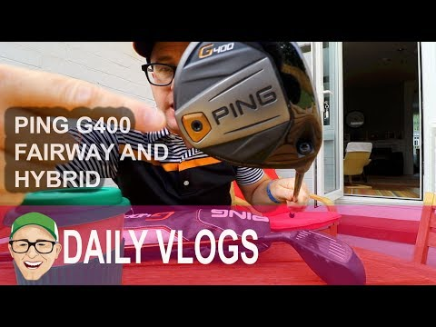 PING G400 FAIRWAY and  HYBRID