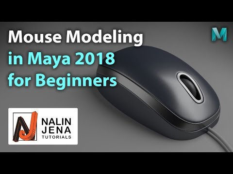 Maya 2018 Mouse Modeling For Beginners
