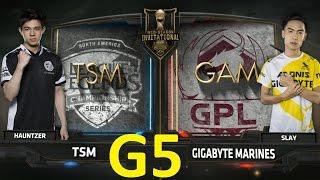 TSM vs GAM Game 5 Highlights 2017 MSI 2017 Play-In