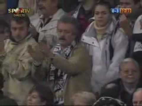 El Bernabeu aplaudiendo a Ronaldinho