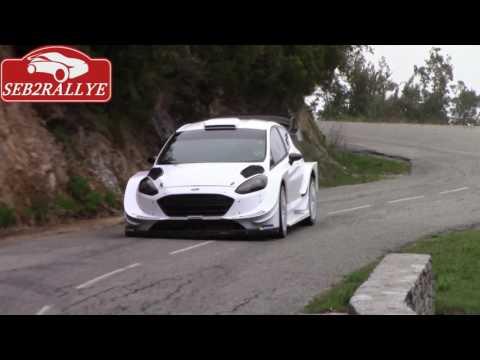 ott  TANAK TESTS FIESTA   WRC IN CORSICA