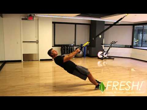 TRX High and Low Row - Exercise Demo