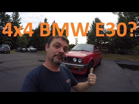 1988 BMWi X Review, The First 4x4 Bimmer?!?