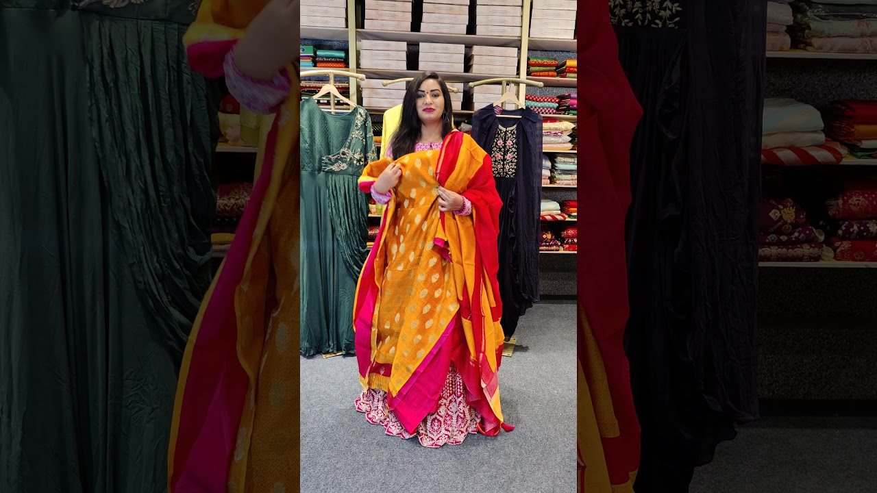 """<p style=""""color: red"""">Video : </p>BEAUTIFUL DRESS MATERIALS FROM MUGDHA FOR ORDERS 9949047889 2021-09-21"""