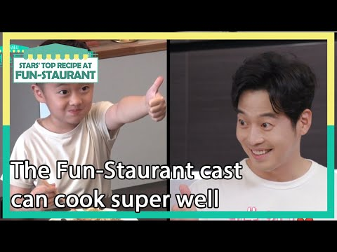 The Fun-Staurant cast can cook super well [Stars' Top Recipe at Fun-Staurant/ENG/2020.11.24]