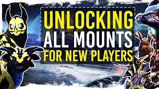 Guild Wars 2 - Unlocking All Mounts - New Player Guide