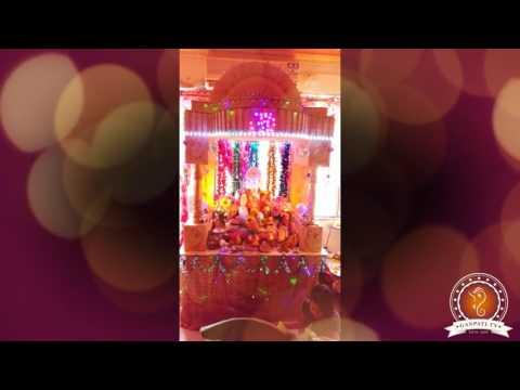 Prashant Shinde Home Ganpati Decoration Video