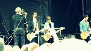 """The Trews """"The World I Know"""" @ East Coast Music Week 2012, Moncton, NB, Canada"""