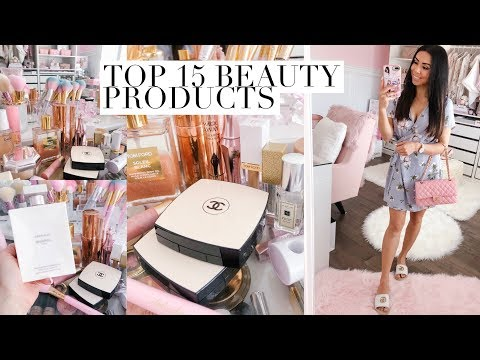 MY TOP 15 BEAUTY PRODUCTS!💕AND CHANEL BEAUTY HAUL!💕