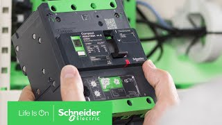 Compact™ NSXm Features Integrated Earth Leakage Protection | Schneider Electric