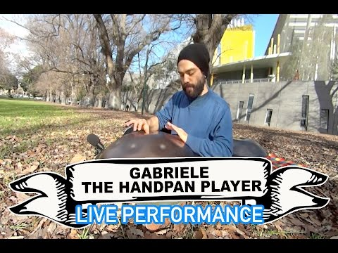 Gabriele the Handpan Player Video