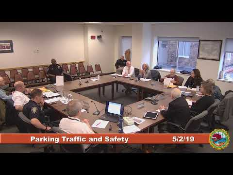 Parking and Traffic Safety Committee 5.2.2019