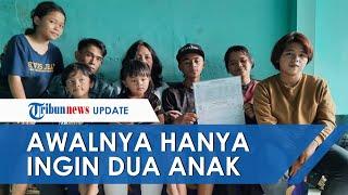 Pasangan Punya Anak 16 di Malang Ngaku Awalnya Ingin Punya Dua Anak Akhirnya Keterusan