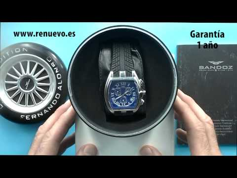 Reloj SANDOZ Fernando Alonso 81255 03 de segunda mano