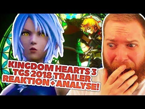 KINGDOM HEARTS 3 TGS 2018 Trailer Reaktion + Analyse! (видео)