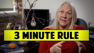 3 Minute Rule Screenwriters Should Know - Dr. Connie Shears