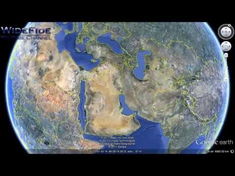 Video The Most Strange Places in the World - Captured on Google Earth