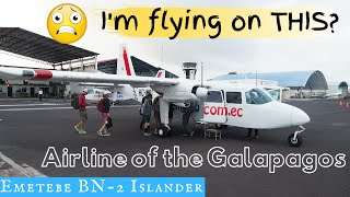 CRAZY EMETEBE FLIGHT!: Airline of the Galapagos