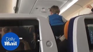 This child screamed for a whole eight hour flight - Daily Mail