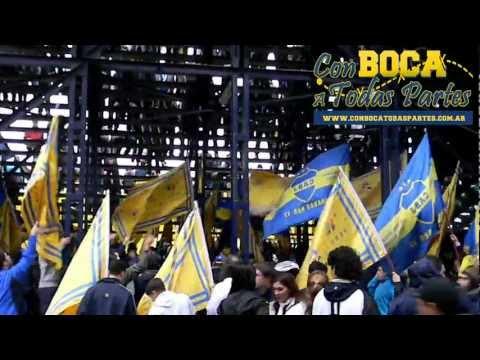 """""""Antes que te vayas al descenso -previa- / Gimnasia vs Boca Jrs - Clausura 2011"""" Barra: La 12 • Club: Boca Juniors • País: Argentina"""
