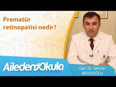 Prematür retinopatisi nedir?