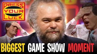 Press Your Luck - THE BIGGEST most SHOCKING contestant MOMENT in GAME SHOW HISTORY! | BUZZR