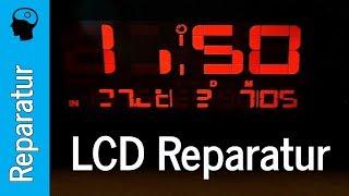 LCD Reparatur - Oregon Scientific Projektions Uhr
