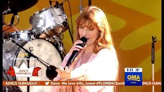 Florence + The Machine Perform   Hunger   GMA LIVE