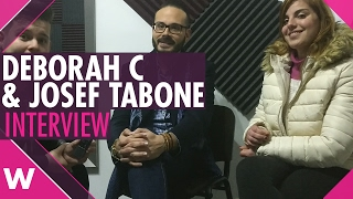 "Deborah C & Josef Tabone ""Tonight"" - Malta ESC 2017 (INTERVIEW)"