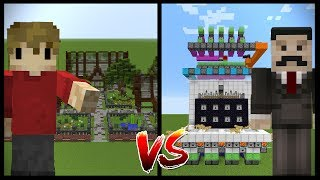 MINECRAFT BUILDING VS REDSTONE (Grian vs Mumbo)
