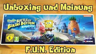Unboxing + Meinung: F.U.N. Edition von Spongebob Schwammkopf: Battle for Bikini Bottom - Rehydrated