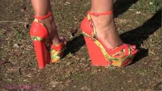 Spring & Summer Wedges!  Spring Wedges Video Game with the Easter Bunny!