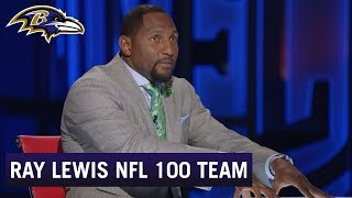 Ray Lewis Named to NFL 100 All-Time Team | Baltimore Ravens
