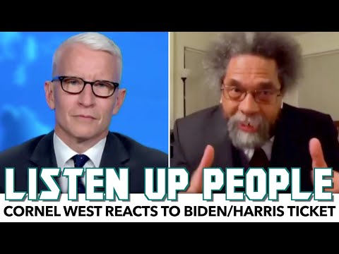 Cornel West Reacts To Biden/Harris Ticket, Doesn't Hold Back